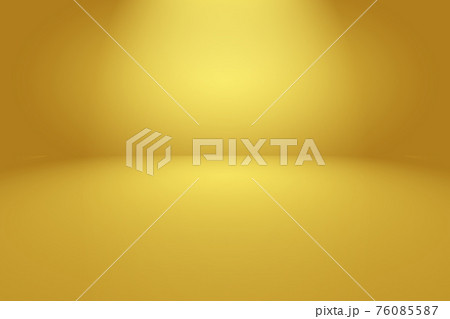 Abstract Luxury Gold yellow gradient studio wall, well use as background,layout,banner and product presentation. 76085587