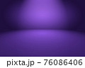 Studio Background Concept - abstract empty light gradient purple studio room background for product. 76086406