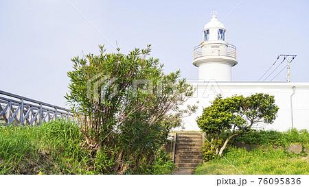 湘南三浦半島の最南端神奈川県三浦市城ヶ島の春の灯台 76095836