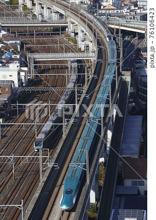 東北新幹線E5系やまびこ号(併結:元こまち車両) 76106423