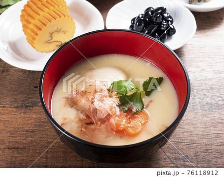 京風お雑煮とおせち料理 76118912