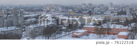 winter and snow Minsk 76122518