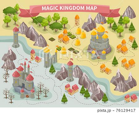 Magic Kingdom Map 76129417