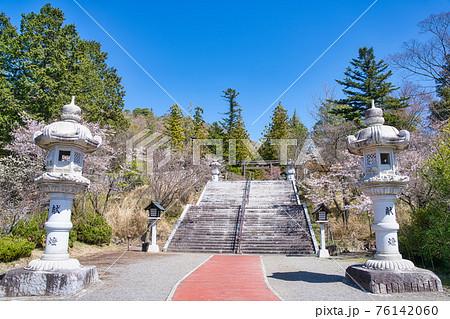 春の山梨県護国神社 76142060