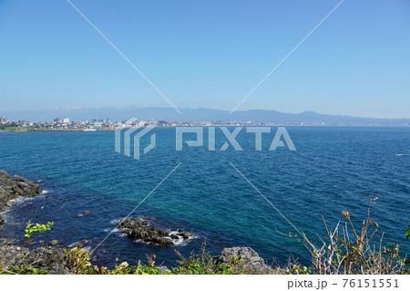 立待岬から函館の町を眺めて 76151551