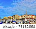 クロアチアのおしゃれな街ロヴィニ 76182668