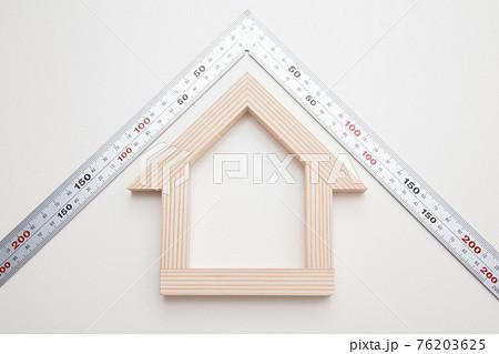 マイホームと指矩 コピースペース 家づくりイメージ 間取り 注文住宅イメージ  76203625