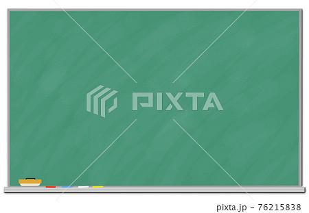 背景素材 黒板 コピースペース PNGデータあり 76215838