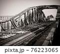 廃線って惹かれますよね。ここは戦時中の軍用に使用されていた線路です。非常に状態が良いです。 76223065