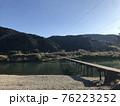 清流・高知県の四万十川&沈下橋 76223252