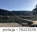 清流・高知県の四万十川&沈下橋 76223256