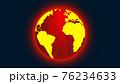 地球温暖化をコンセプトとしたイラスト 76234633