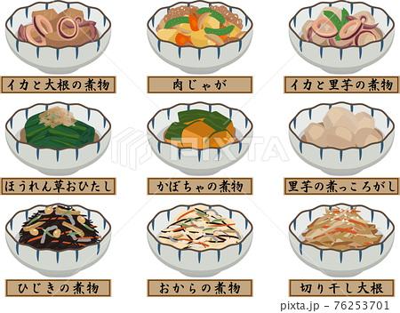 和風小鉢 惣菜セット 1 名称付き 76253701