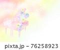 花 ピアノ イメージ 76258923