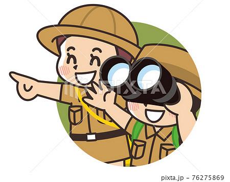 双眼鏡とこども探検隊 76275869