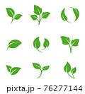 葉のアイコンセット 76277144
