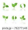 葉のアイコンセット 76277146