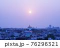 The Golden Mount, Wat Saket, in Bangkok, Thailand. 76296321