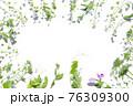 草花の寄せまとめフレーム 76309300