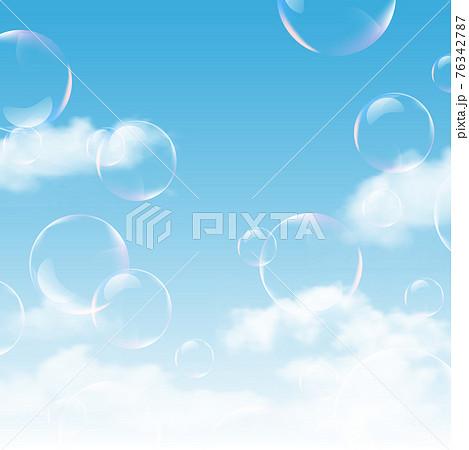 空 雲 風景 背景 76342787