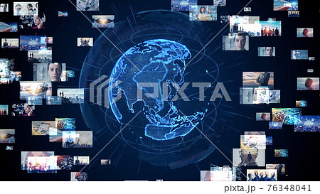 グローバルネットワーク  ビジュアルコンテンツ  76348041