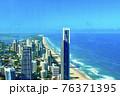 オーストラリアのゴールドコーストにあるQ1タワーからの眺め 76371395