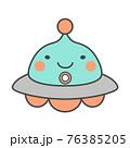 UFOイラスト 76385205