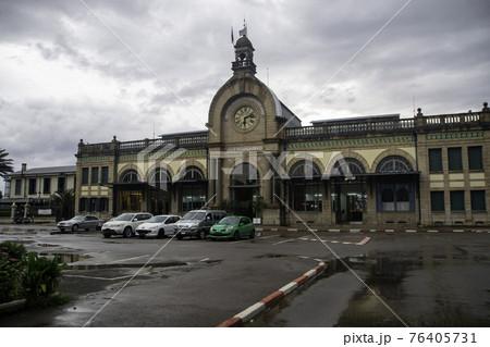 マダガスカルの首都のアンタナナリボにあるソアラノ駅  76405731