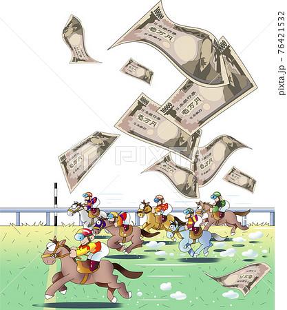 競馬 ギャンブル 76421532