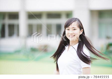 体操服の高校生 76445555