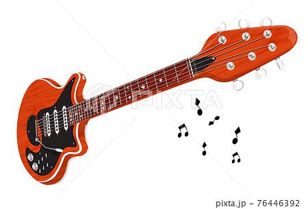 エレキギター,赤 76446392