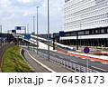 建設中の羽田連絡道路(仮称)の入口部分 76458173