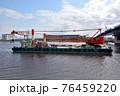 クレーン付台船 76459220