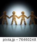 Business Collaboration Concept 76460248