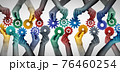 Team Collaboration Concept 76460254