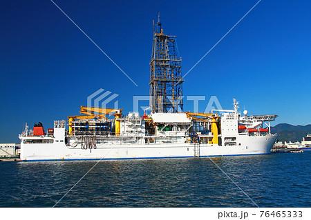 地球深部探査船 ちきゅう 76465333