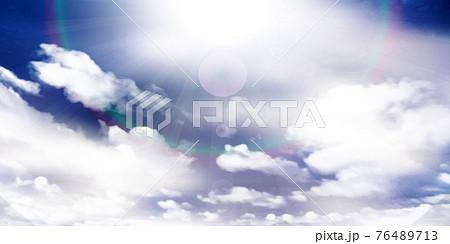 空 雲 風景 背景  76489713