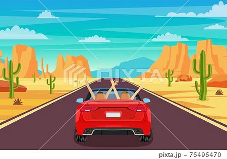 Road in desert 76496470
