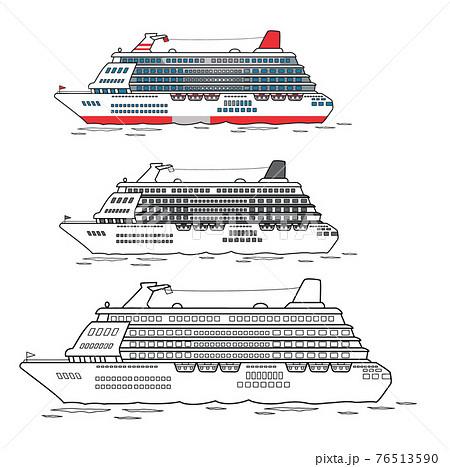 大型,クルーズ船  76513590