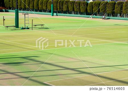 テニスコート 76514603