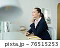 Pensive female entrepreneur 76515253
