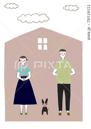 熟年夫婦の暮らし 76519151