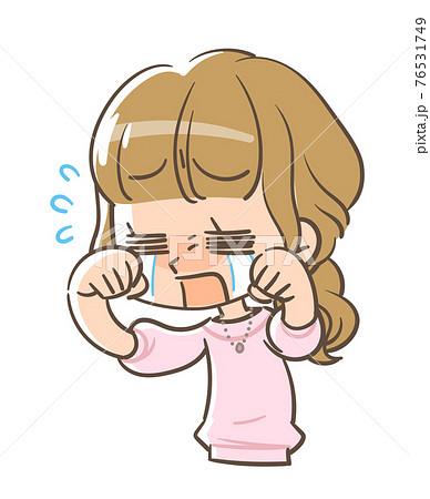 号泣する女の子2 76531749
