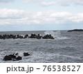 海岸沿い、海の青空 76538527