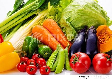 野菜の集合イメージ 76538927
