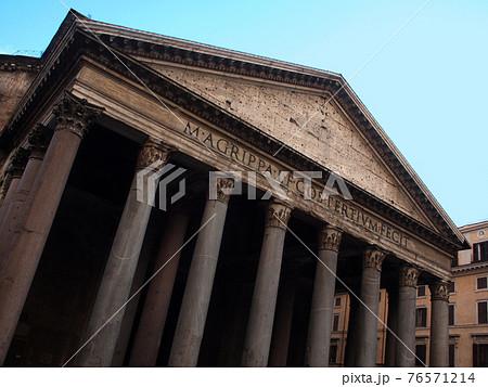 イタリアローマの遺跡パンテオン 76571214