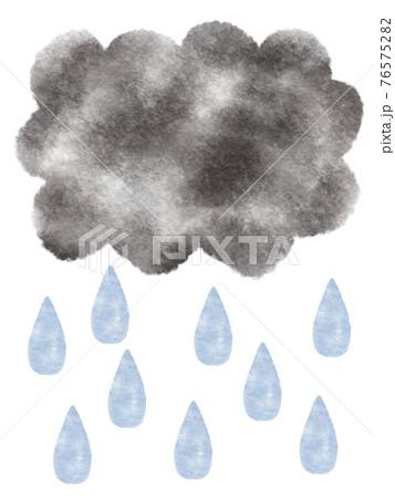 雨・梅雨・天気 76575282