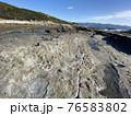 南紀熊野ジオパーク 八十磯の波食棚 干潮時 76583802