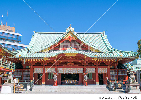 東京都 神田明神 拝殿 76585709