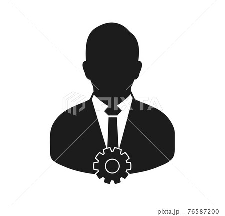 Account Security Icon. Flat style vector EPS. 76587200